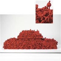plan of the ants - red no. 1 by ma han