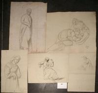 etudes de femmes (5 studies) by françois joseph navez