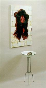 autoretrato em preto by adriana varejão