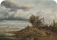 a view in hampshire by james nasmyth