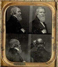 multiple portrait of james duncan graham by alexander hesler