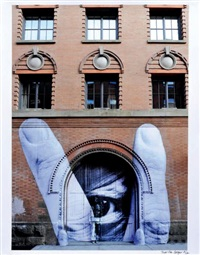 jr (france) and liu bolin (china) in nyc by martha cooper