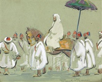 le cortège by marcel vicaire