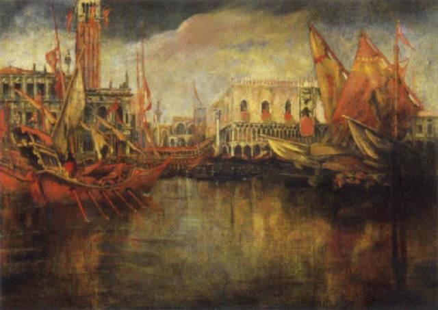 festa del redentore, 1909 by gennaro favai