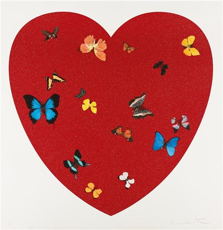 big love diamond dust by damien hirst