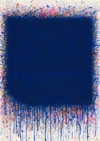 o.t. (flächenraum in blau) by bernd berner