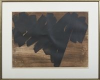 composition iv by pierre soulages