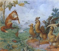 le renard musicien by carl hess