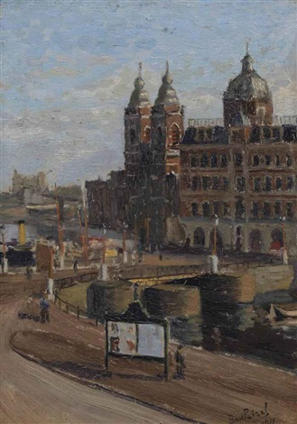 view of the st nicolaaskerk amsterdam by bart peizel
