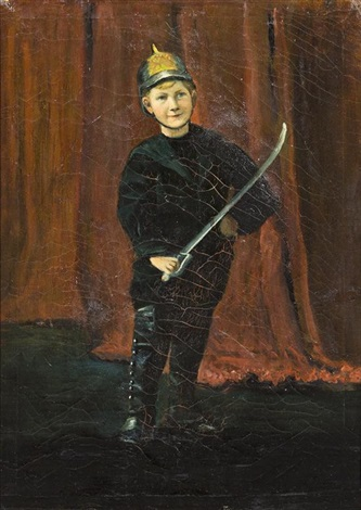 portrait of walter mitchell the artists nephew by ernest lawson