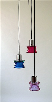 ceiling light by seguso vetri d'arte (co.)