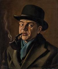 senza titolo (ritratto) by gregorio sciltian