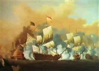 the battle of cape pasarro by h. vale