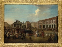 view of covent garden market by balthasar nebot