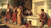 the greek fountain by oswald rose campbell