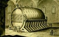 le tonneau d'heidelberg by johann adam ackermann