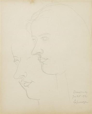 portrait du peintre irène lagut by roger de la fresnaye