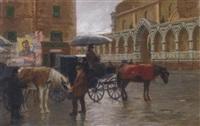 piazza santa maria novella, florence by gino danti