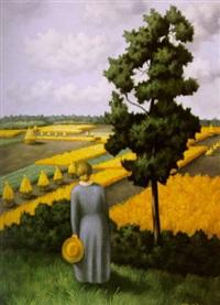 landschap zuid limburg by toon van den muysenberg