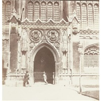 king's college chapel, cambridge by william henry fox talbot
