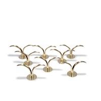 acht kerzenleuchter 'lily' by ivar alenius-bjork
