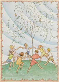 willow dance by margaret winifred tarrant