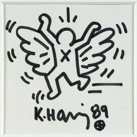 ange by keith haring