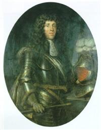 portrait (chevalier d'harcourt?) by louis ferdinand elle the elder