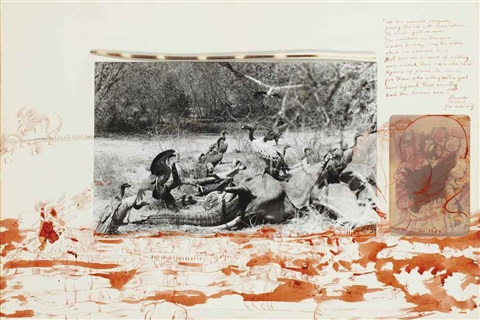 sans titre by peter beard
