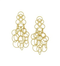 hawaii ear pendants (pair) by buccellati