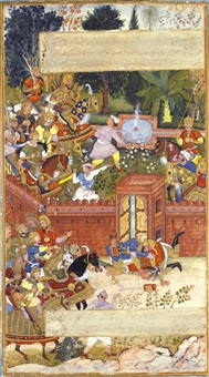 a page from bal'ami's history of tabari by anonymous-indian-mughal (16)