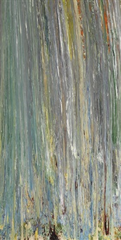 untitled lp 21 (#1) by larry poons