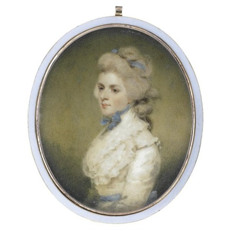 portrait of miss frances kemble afterwards mrs twiss after sir joshua reynolds by edward miles