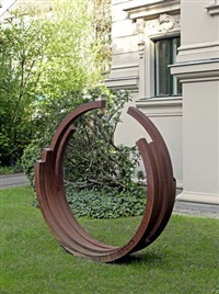 228,5˚ arc x 5 by bernar venet