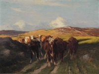 cattle by william henry howe