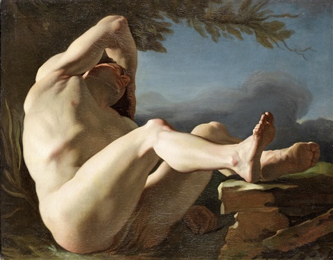 the sleep of endymion by nicolas guy brenet