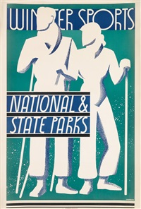 national parks / winter sports by dorothy waugh
