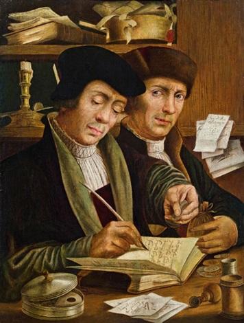 beim steuereinnehmer by anonymous flemish 16