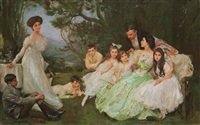 the golden butterfly - the harvey family by john henry frederick bacon