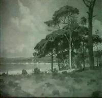 paysage mediteranneen by garibaldi