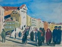 l'église santa maria della pieta (venise) by yves brayer