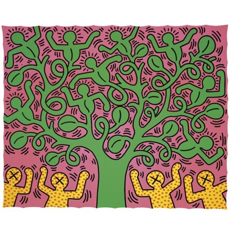 tree of life by keith haring