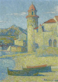 collioure, le phare by achille laugé