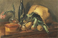 table top still life by duncan grant