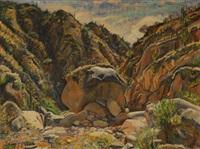 paisaje montañoso by arturo acebal idigoras