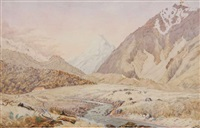 the first hermitage, mt. cook by christopher aubrey