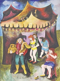 the circus by anne marie hall