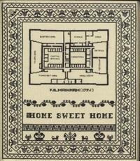 sampler - home sweet home, kilmainham by elaine reichek