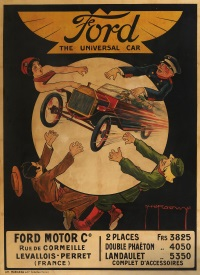 ford, the universal car by h. l. roowy