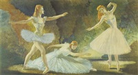 rhythm of the ballet by william russell flint